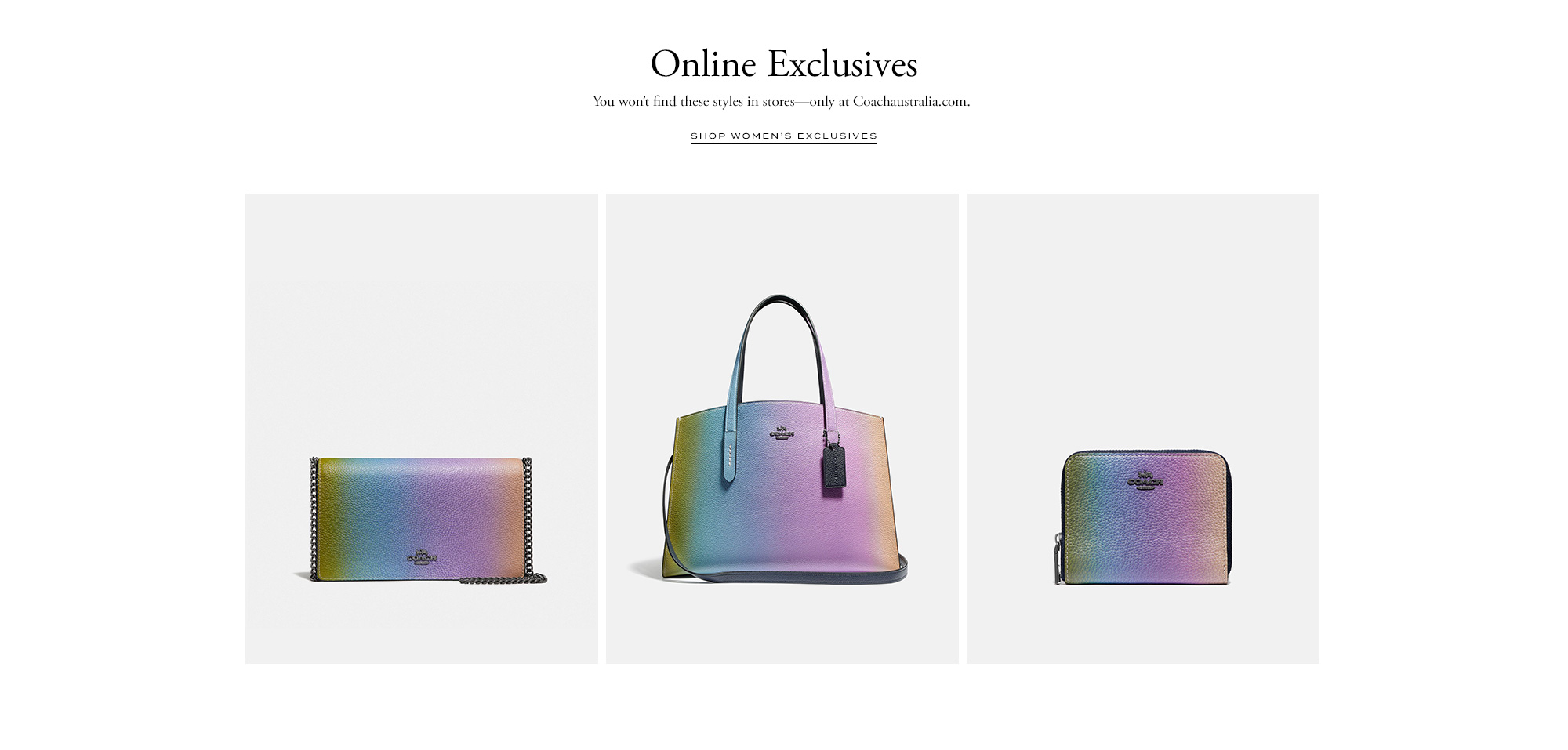 0a7c9248d55 Designer Fashion   Handbags   Coach Australia Online Shop