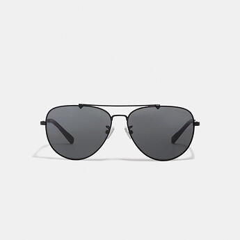 Image of Coach Australia  WIRE FRAME PILOT SUNGLASSES