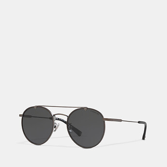 Image of Coach Australia  THIN METAL ROUND SUNGLASSES