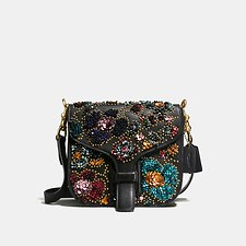 Image of Coach Australia OL/BLACK MULTI COURIER BAG