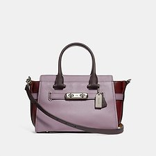 Image of Coach Australia SV/JASMINE MULTI COACH SWAGGER 27 IN COLORBLOCK