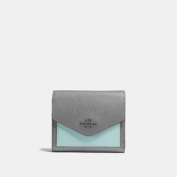 Image of Coach Australia  SMALL WALLET IN COLORBLOCK LEATHER