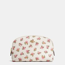 Picture of COSMETIC CASE 22 IN FLOWER PATCH PRINT COATED CANVAS