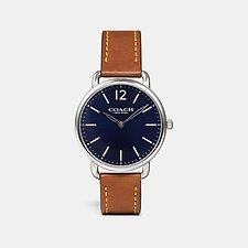 Image of Coach Australia SADDLE DELANCEY SLIM WATCH