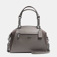 Picture of CHAIN PRAIRIE SATCHEL IN MIXED LEATHERS