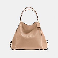 Picture of EDIE SHOUDLER BAG 42 IN MIXED LEATHERS