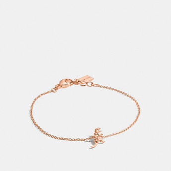 Image of Coach Australia  MINI 18K GOLD PLATED REXY BRACELET