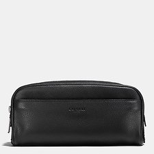 Image of Coach Australia BLACK DOPP KIT
