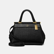 Image of Coach Australia GD/BLACK GRACE BAG WITH QUILTING