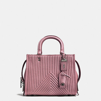 299146710f51 Image of Coach Australia ROGUE 25 WITH QUILTING AND RIVETS
