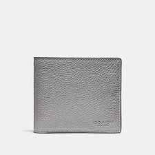 Image of Coach Australia HEATHER GREY 3-IN-1 WALLET
