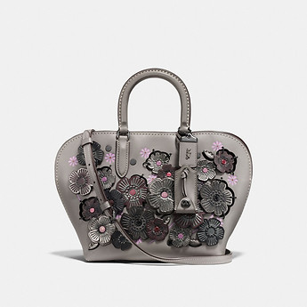 Image of Coach Australia  DAKOTAH SATCHEL 22 WITH LINKED TEA ROSE