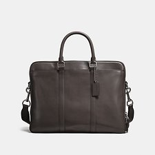 Image of Coach Australia QB/CHESTNUT METROPOLITAN DOUBLE ZIP BUSINESS CASE