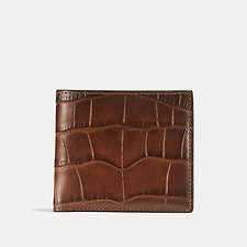 Image of Coach Australia SADDLE DOUBLE BILLFOLD WALLET