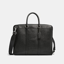 Image of Coach Australia SV/BLACK METROPOLITAN SLIM BRIEF