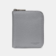 Image of Coach Australia HEATHER GREY SMALL ZIP AROUND WALLET
