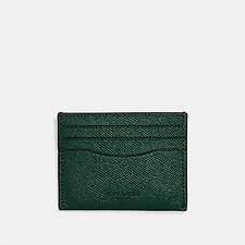 Image of Coach Australia RACING GREEN CARD CASE