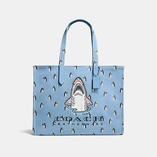 Image of Coach Australia BP/CORNFLOWER MULTI SHARKY TOTE 42