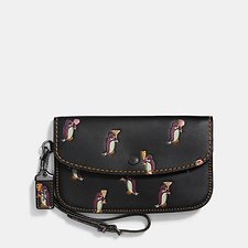 Picture of CLUTCH WITH PENGUIN PRINT