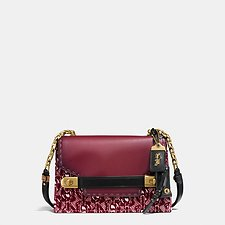 Picture of COACH SWAGGER CHAIN CROSSBODY WITH SIGNATURE CHAIN PRINT