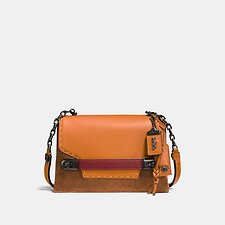 Picture of COACH SWAGGER CHAIN CROSSBODY IN COLORBLOCK