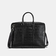 Image of Coach Australia JI/BLACK METROPOLITAN SLIM BRIEF