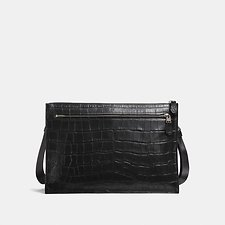 Image of Coach Australia JI/BLACK MANHATTAN CONVERTIBLE SLIM MESSENGER