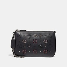 Picture of NOLITA WRISTLET 22 WITH CUT OUT TEA ROSE