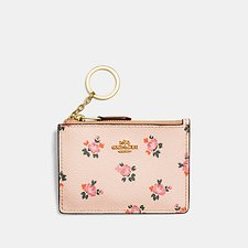 Picture of MINI SKINNY ID CASE WITH FLORAL BLOOM PRINT