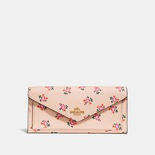 Picture of SOFT WALLET WITH FLORAL BLOOM PRINT
