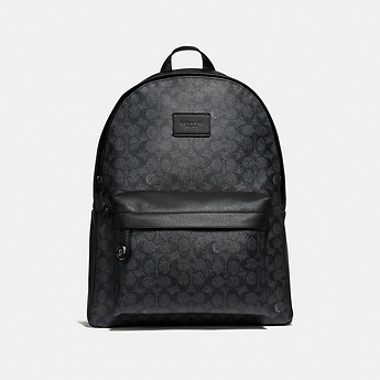 Image of Coach Australia  CAMPUS BACKPACK IN SIGNATURE CANVAS