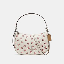 Image of Coach Australia SV/CHALK MULTI CHELSEA CROSSBODY WITH FLORAL BLOOM PRINT