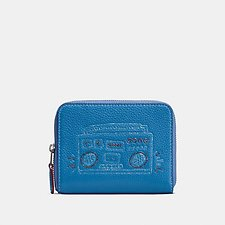 Picture of COACH X KEITH HARING SMALL ZIP AROUND WALLET