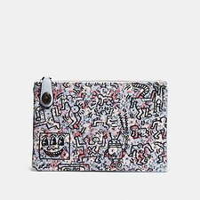 Picture of COACH X KEITH HARING TURNLOCK POUCH 26