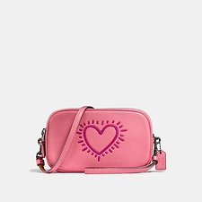 Picture of COACH X KEITH HARING CROSSBODY CLUTCH