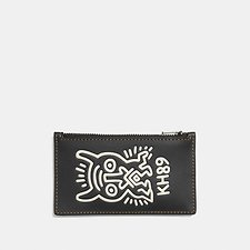 Picture of COACH X KEITH HARING ZIP CARD CASE