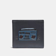 Picture of COACH X KEITH HARING DOUBLE BILLFOLD WALLET