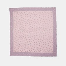 Picture of FLORAL BOW PRINT OVERSIZED SQUARE