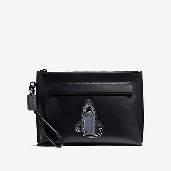 Image of Coach Australia  POUCH WITH MASCOT