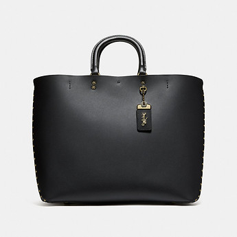 Image of Coach Australia  ROGUE TOTE WITH BORDER RIVETS