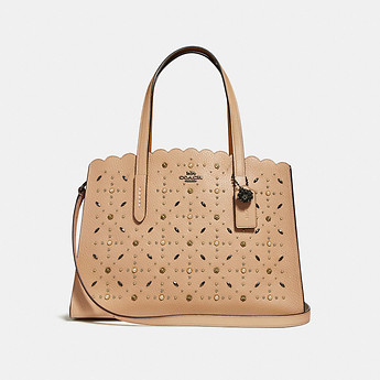 Image of Coach Australia  CHARLIE CARRYALL WITH PRAIRIE RIVETS