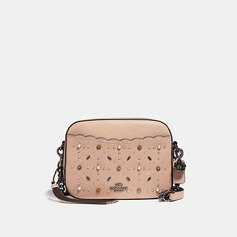 Image of Coach Australia  CAMERA BAG WITH PRAIRIE RIVETS
