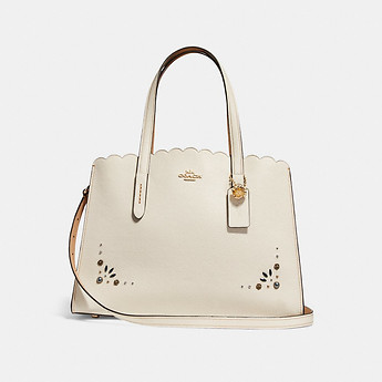 Image of Coach Australia  CHARLIE CARRYALL WITH PRAIRIE RIVETS DETAIL