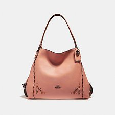 Picture of EDIE SHOULDER BAG 31 WITH PRAIRIE RIVETS DETAIL