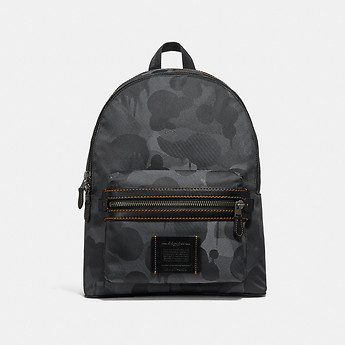 Image of Coach Australia  ACADEMY BACKPACK WITH WILD BEAST PRINT