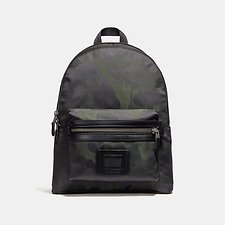Image of Coach Australia JI/MILITARY ACADEMY BACKPACK WITH WILD BEAST PRINT