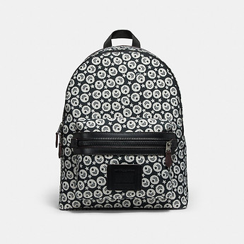 Image of Coach Australia  ACADEMY BACKPACK WITH CHEVRON STAR PRINT