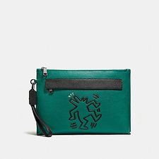 Picture of COACH X KEITH HARING POUCH