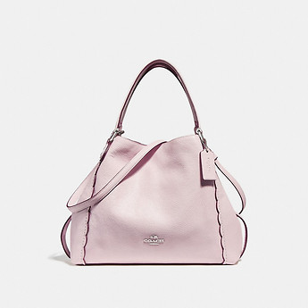 Image of Coach Australia  EDIE SHOULDER BAG 28 WITH SCALLOPED DETAIL