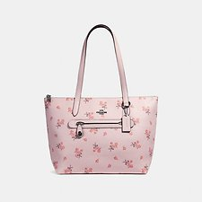 Picture of TAYLOR TOTE WITH FLORAL BOW PRINT